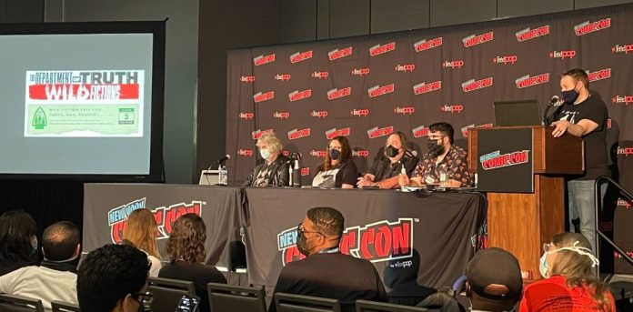 The Department of Truth NYCC panel