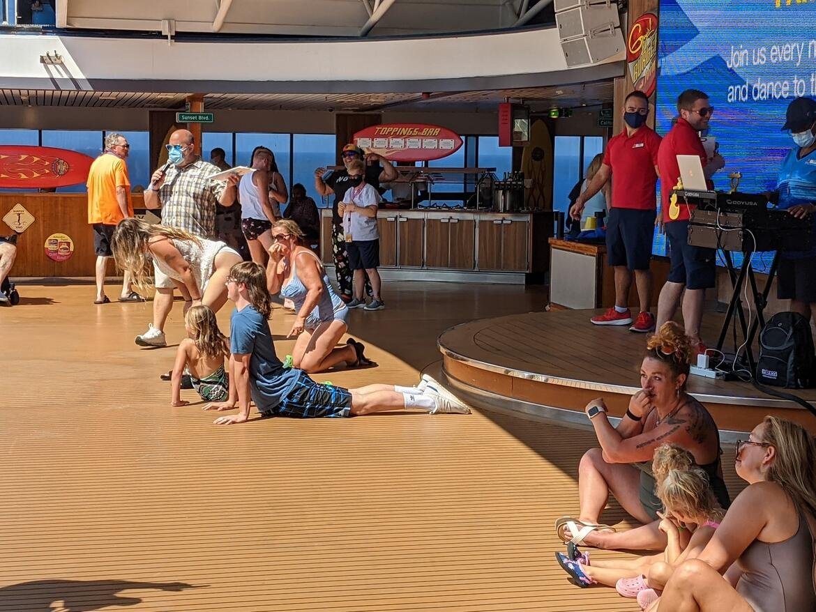 Red's Challenge on Carnival Pride